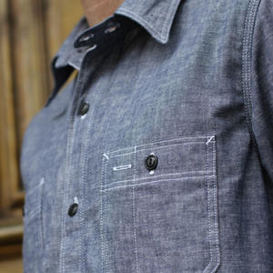 #1 Indigo Chambray Workshirt