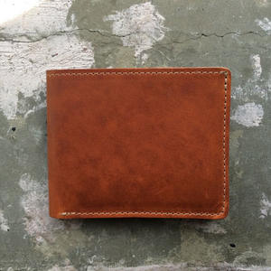 Horween Bifold - English Tan Dublin