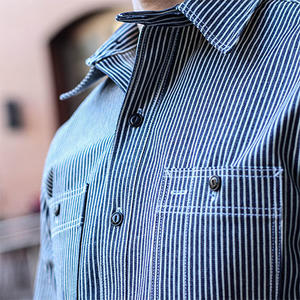 #15 USA Hickory Stripe Workshirt