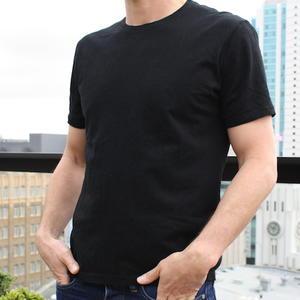 USA Organic T-Shirt Black 2PK