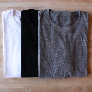 USA T-Shirt 3PK (White, Black, Grey)