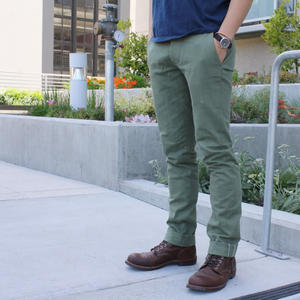 #15 Olive Selvedge Chinos