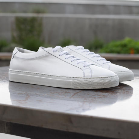 White Low Top | Gustin | Sneakers