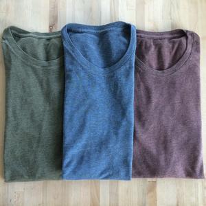 Heather T-Shirt 3PK (Sage, Plum, Ocean)