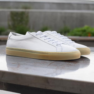 White Gum Sole Low Top