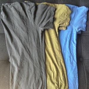 Slub T-Shirt 3PK (Ash, Moss, Shallow Blue)