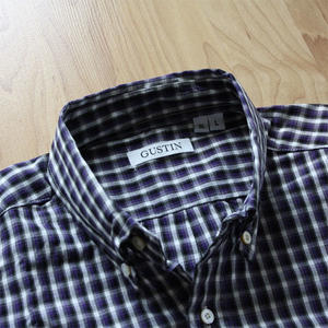 #187 Black Plum Plaid
