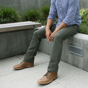 Army Green Duck Canvas Chino