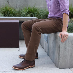 #6 Brown Duck Canvas Chino