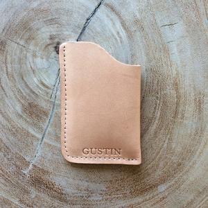 Corner Wallet - Horween Natural