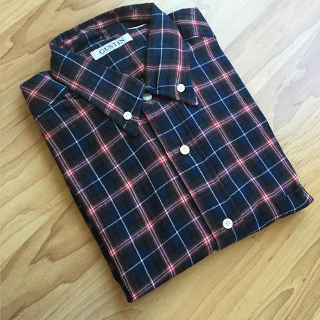Classic Red and Charcoal Gray Plaid Cotton Flannel Shirting Cozy Soft!