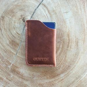 Corner Wallet - Horween English Tan Dublin