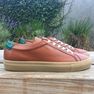 Sienna-Green Gum Sole Low Top