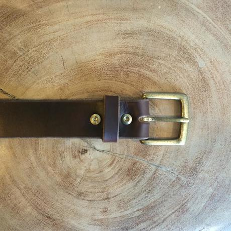 horween chromexcel brown belt