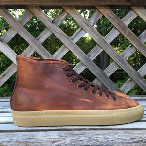 Horween Dublin Gum Sole High Top