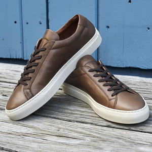 Horween CXL Natural Low Top