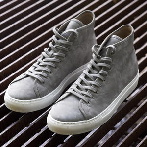 Grey Nubuck High Top