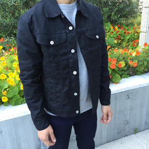 Trucker Jacket - Waxed Black