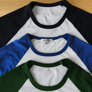 Baseball Tee 3PK (Black, Blue, Green)
