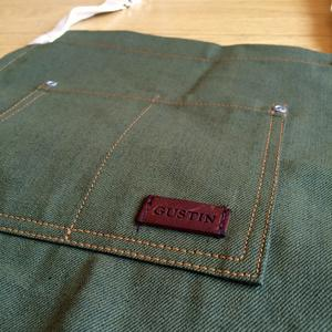 Selvedge Apron - Japan Olive