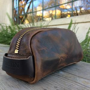 Horween Dopp Kit - Nut Brown Dublin