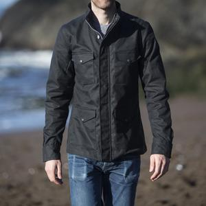 Field Jacket - Waxed Black