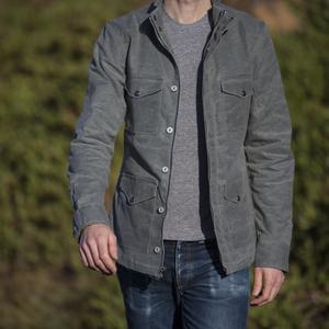 Field Jacket - Waxed Charcoal