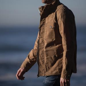 Field Jacket - Waxed Brown