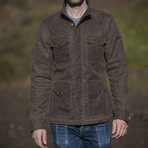Field Jacket - Waxed Dark Oak