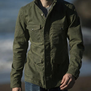 Field Jacket - Waxed Army Green