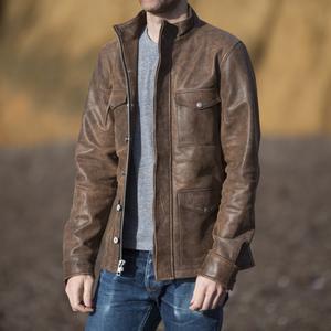 Field Jacket - Vintage Brown Leather