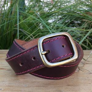 Horween Chromexcel #8 Stitched Belt