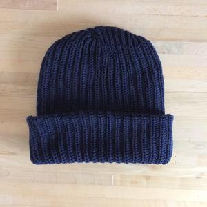 American Knit Beanie - Navy