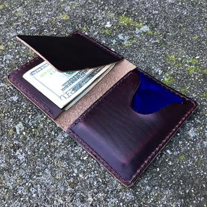 Horween Chromexcel #8 Fold Wallet
