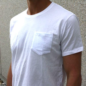 USA Pocket T-Shirt White - 2PK