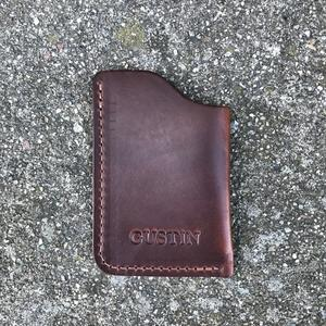 Corner Wallet - Horween Brown Chromexcel