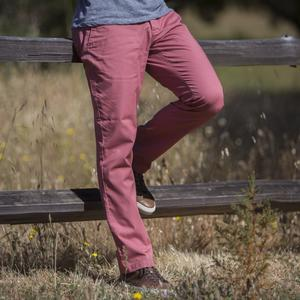#134 Faded Red Superlight Chino