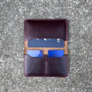 Passport Case Horween CXL #8