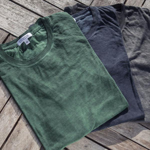 Oil Washed T-Shirt 3 Pack