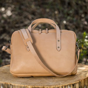 Horween Briefcase - Natural Essex
