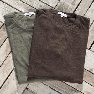 Heather Earth Long Sleeve T-Shirt 2PK