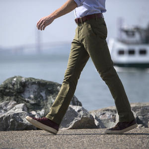 #146 Olive Military Corduroy Chinos
