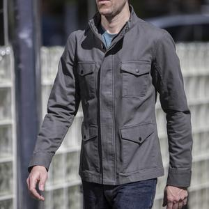 Field Jacket - Titanium Micro Sanded Canvas