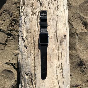 Apple Watch Strap - Horween Chromexcel Black