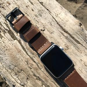 Apple Watch Strap - Horween Chromexcel Natural