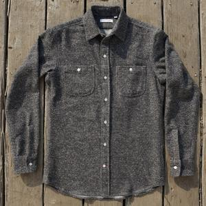 #539 Charcoal Monster Nep Flannel