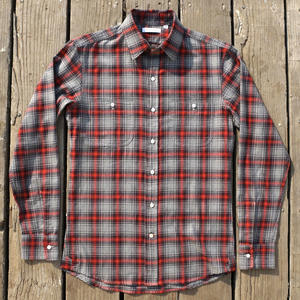 #15 Grey Ember Flannel