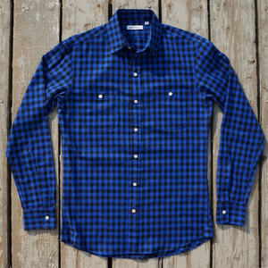 #14 Cobalt Check Flannel