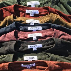 USA Heather Long Sleeve T-Shirt 8PK