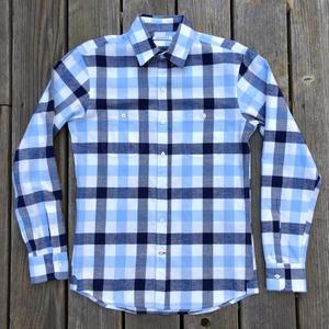 #92 Blue Cloud Flannel